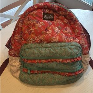 Matilda Jane backpack with Coordinating lunchbox